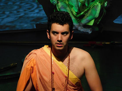 Chris Jefferies as Lord Rama. Thunderstruck produced by Ri Ri's Dance Academy. Image by Nick Clarke