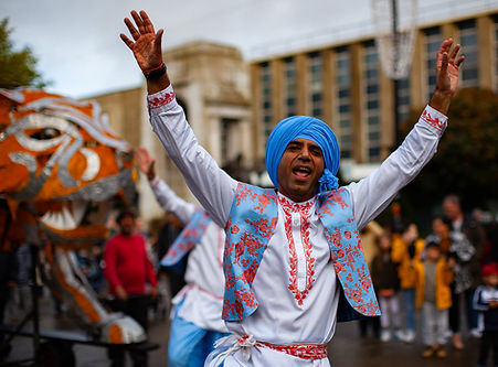 4 X 4 Bhangra, Bolton Diwali Diwali on the Square 2019. Image by Nick Clarke.
