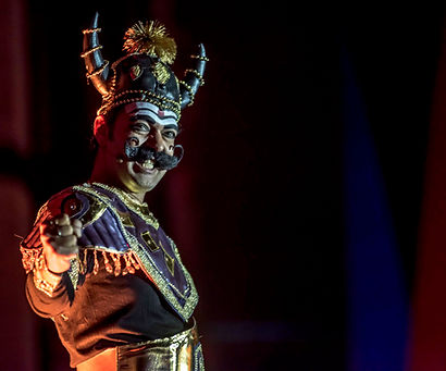 Cast the Light is a captivating piece of outdoor theatre from the Ramayana.