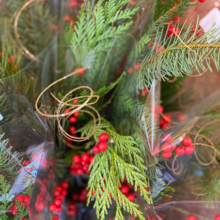 SEASON'S GREETINGS, DECEMBER CREATIONS AND MUCH MORE FROM SUNRISE FLORAL