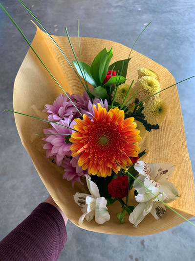 Our smallest bouquet packs big personality!