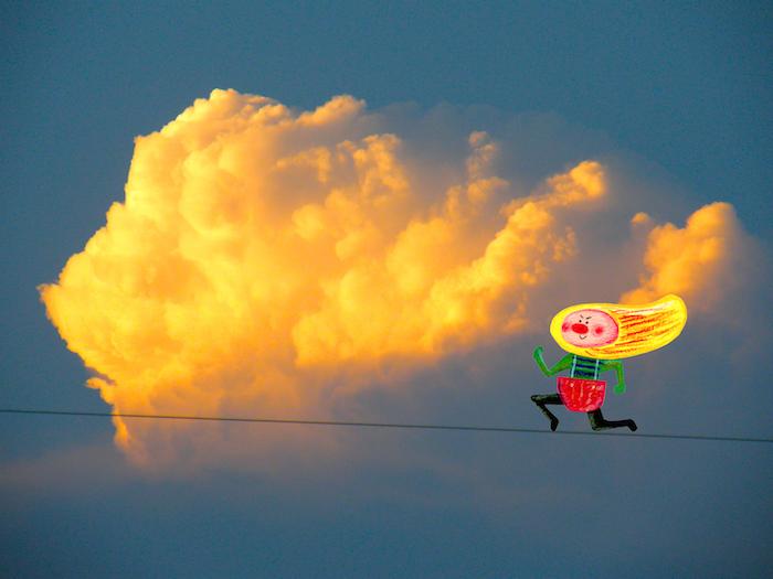 走れ!雲!