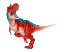 漫画表紙ティラノサウルス
