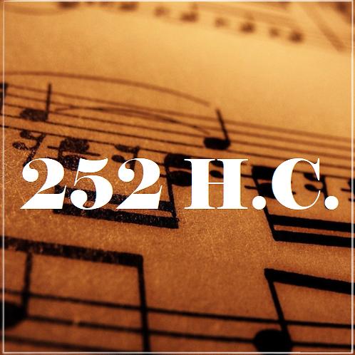 H.C. 252, Santo, Santo És Tu, Senhor