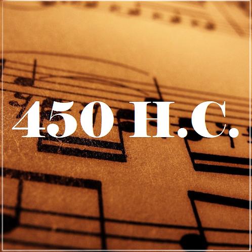 H.C. 450, O Sol da Justiça