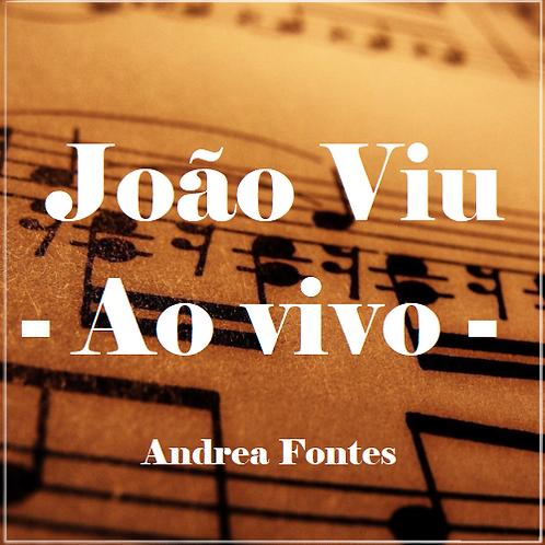 João Viu AO VIVO - Andrea Fontes