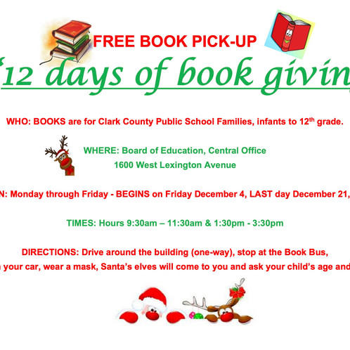 12 days of book giving