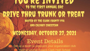 FFA, Calvary join for Trunk or Treat event