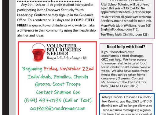 Title 1 November Newsletter