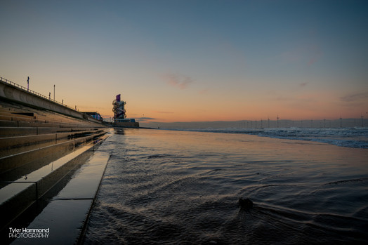 Redcar Sea Front Sunrise