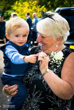 Grandchild and Grandmother