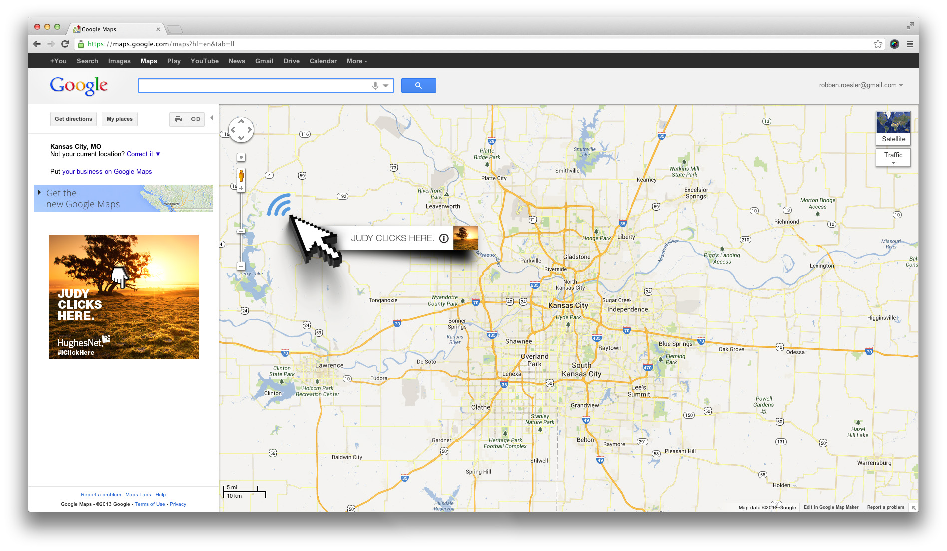 Click Here Google Maps Takeover
