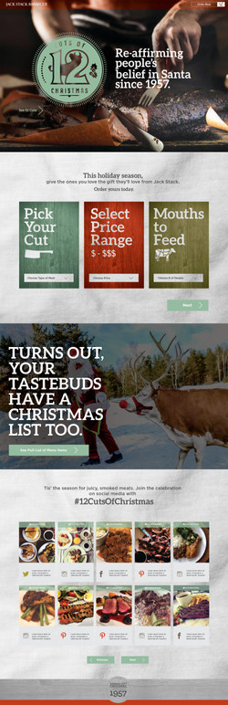 12 Cuts of Christmas Website