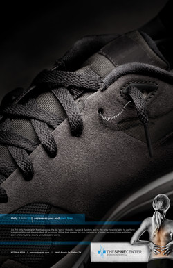 Spine Center Shoe