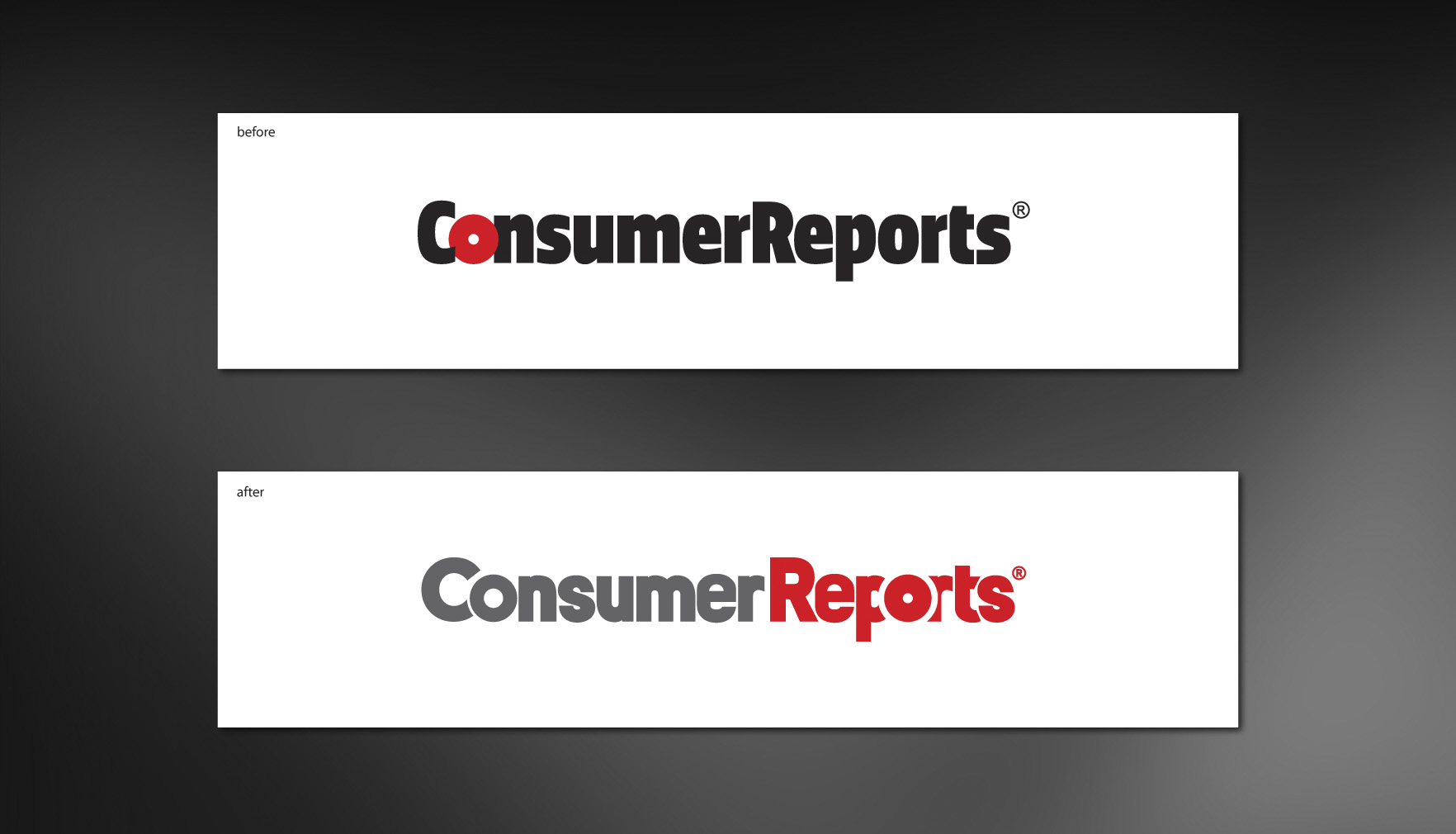 Consumer Reports - Logo Refresh
