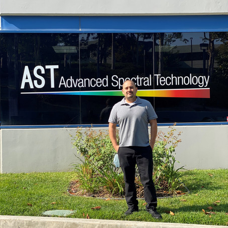 Electrical Engineer student shares internship experience at Advanced Spectral Technology