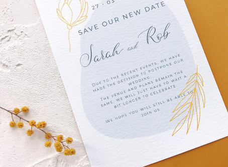 Save the Date cards 101 – all the tips for a smooth start in planning your wedding