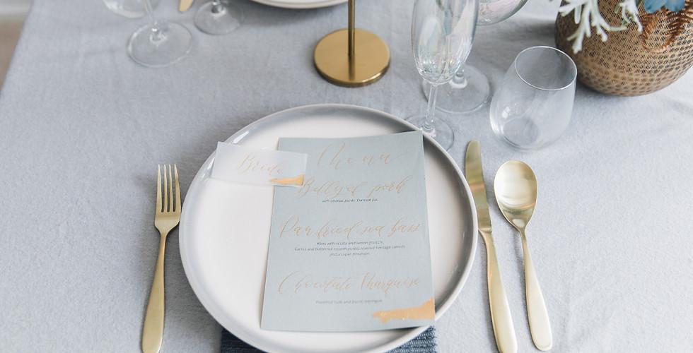 wedding menu calligraphy gold foil.jpg