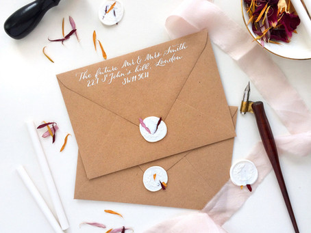 It's all in the details - Make your wedding stationery unique