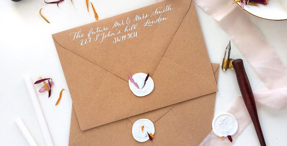 Envelope calligraphy & wax seal.jpg