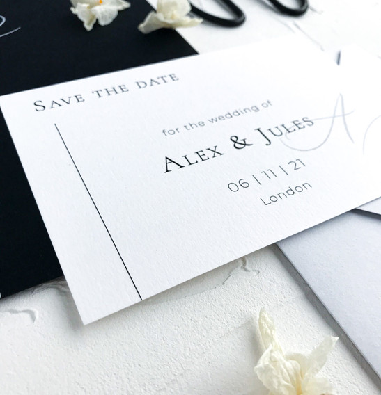 Save the date - minimal collection