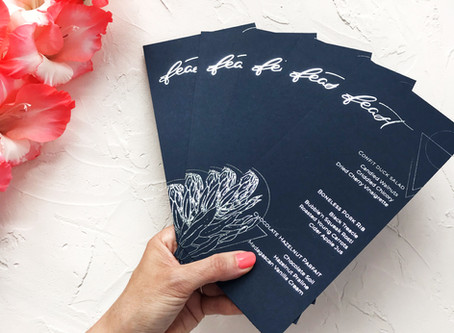 Wedding stationery: the low-down on printing techniques