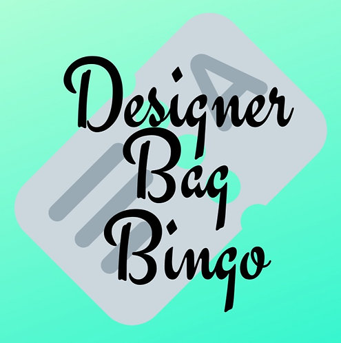 Designer Bag Bingo Table for 8