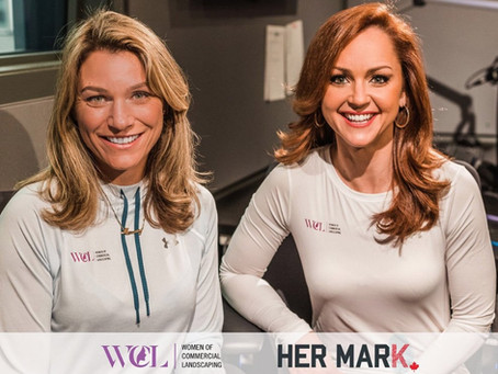 Cheryl Pounder and Kate Beirness Support  Female Empowerment with HER MARK Podcast