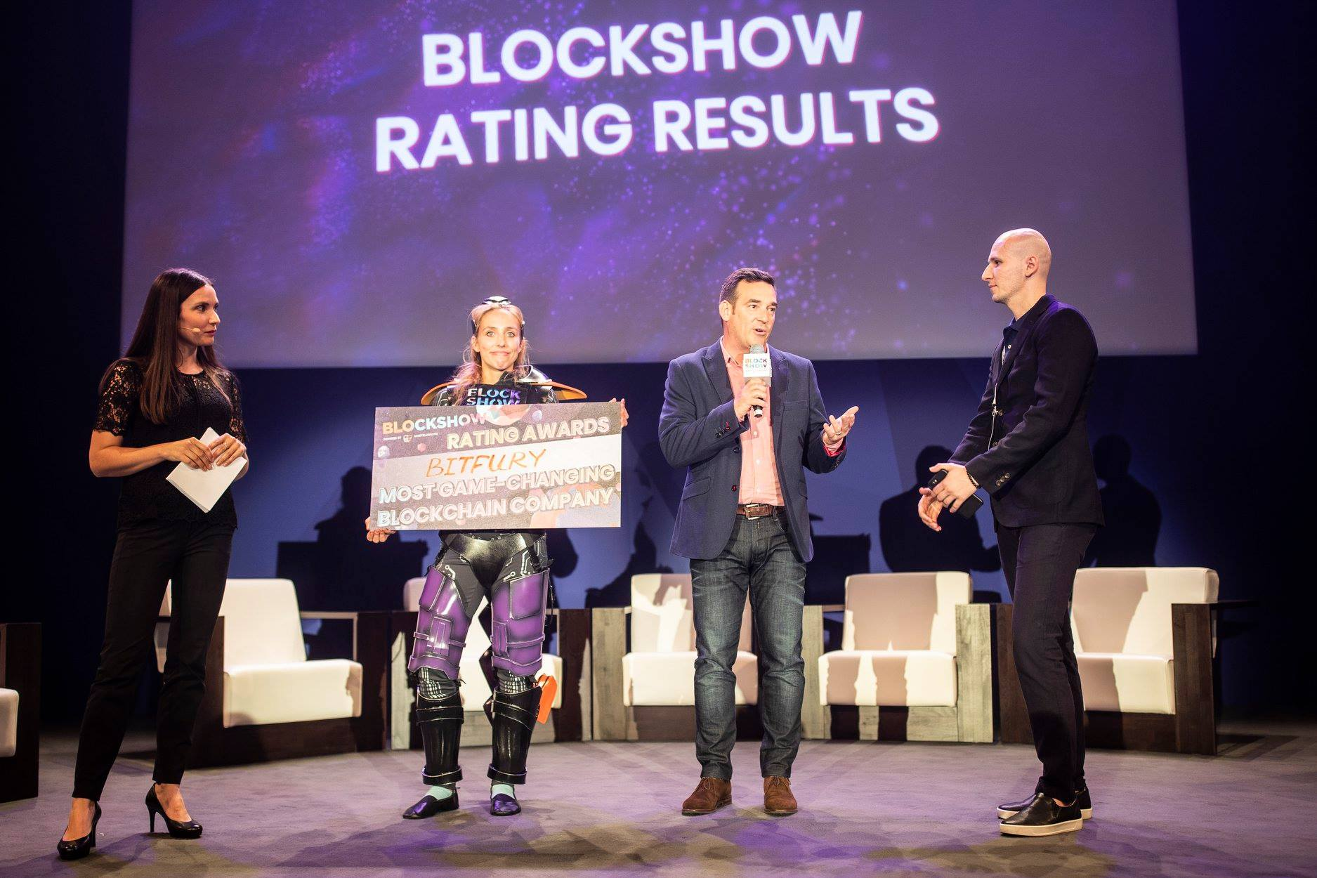 Blockshow Europe Award Ceremony