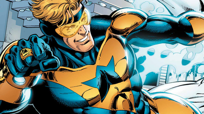 Booster Gold - Fixing His Movie