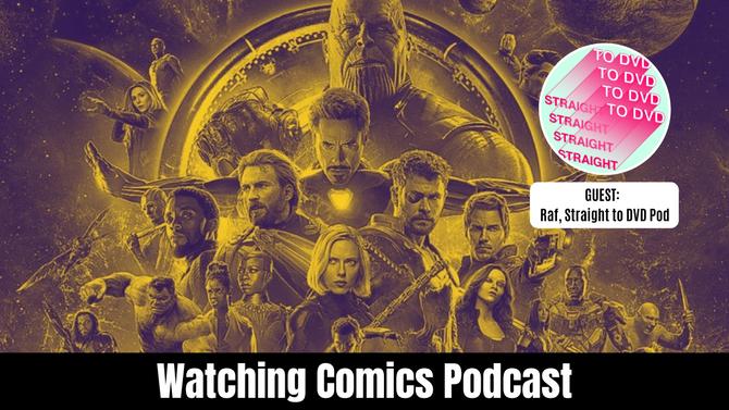 Comic Book Movie Draft w/ Straight to DVD Pod