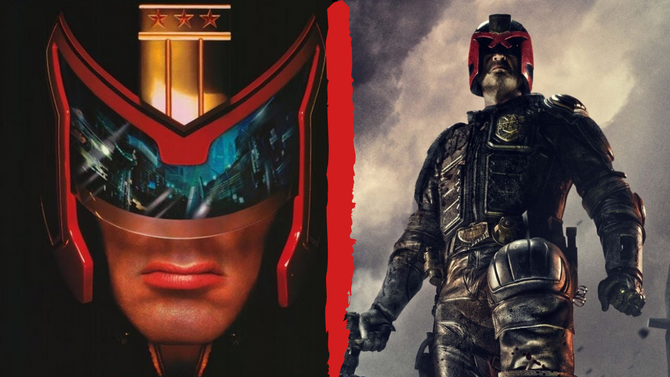 Judge Dredd and His Movies