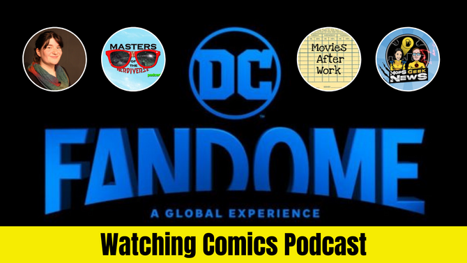 DC Fandome 2021 Reactions w/ Special Guests