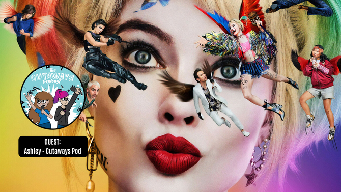 BIRDS OF PREY Review w/ Ashley from The Cutaways Pod