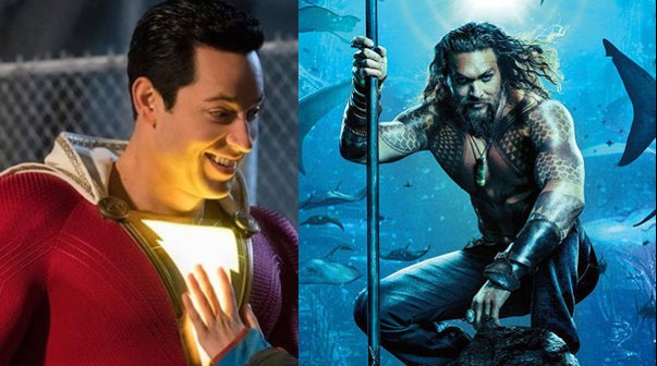 Aquaman + Shazam! Trailers