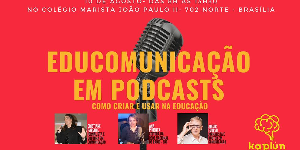 Curso 'Educomunicação: conceito, história e prática em podcast' - Módulo I