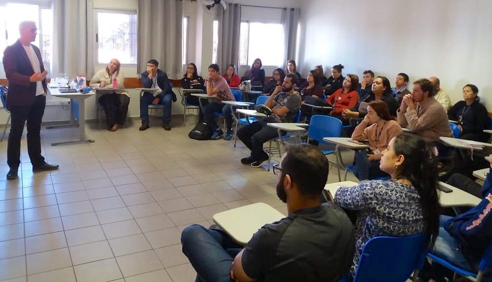 Professores do EduSESC em Reunião de Formação Docente
