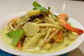 Thai green curry Take away meals CarmEli Old Fashion Cookig Catering