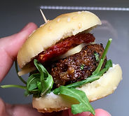 Vegan Burger CarmEli Old Fashion Cooking