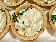 Fromage fort canapé catering in Melbourn
