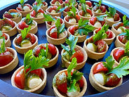 Classic Italiano canapé catering in Melb
