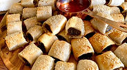 Beef sausage rolls CarmEli Old Fashion C