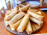 Beef Spring Rolls CarmEli Old Fashion Co