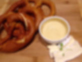 Bavarian pretzel take away meals CarmEli Old Fashion Cookig Catering