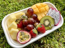 Personal tropical fruit platter, CarmEli