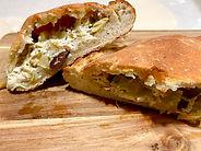 Artichoke And Olive Calzone CarmEli Old