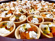 Sweet and sour canapé catering in Melbou
