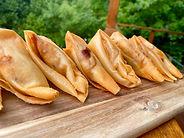 Moroccan potato  & onion pastel finger f