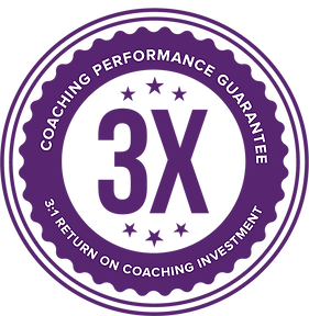 3X return on coaching investment
