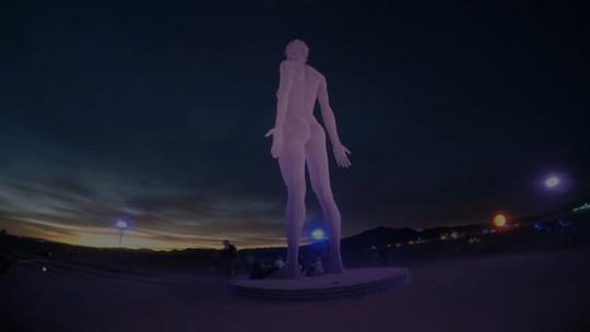 R-Evolution Burning Man Timelapse